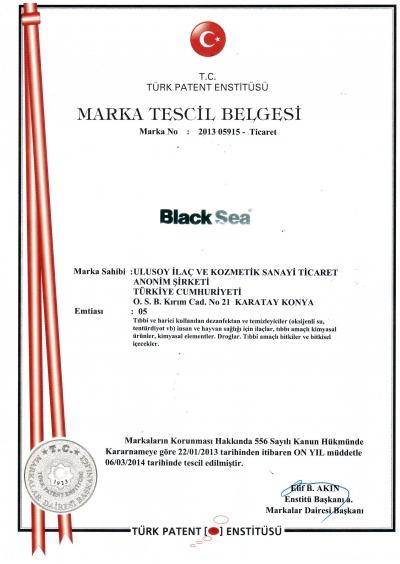 Black Sea Marka Tescil