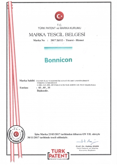 Bonnicon Marka Tescil